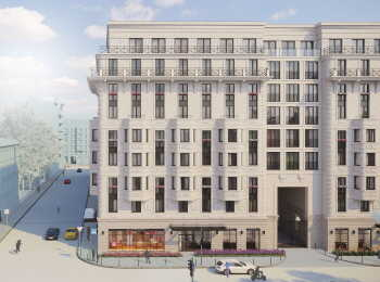 Коммерческие помещения на первых этажах в ЖК Grand House